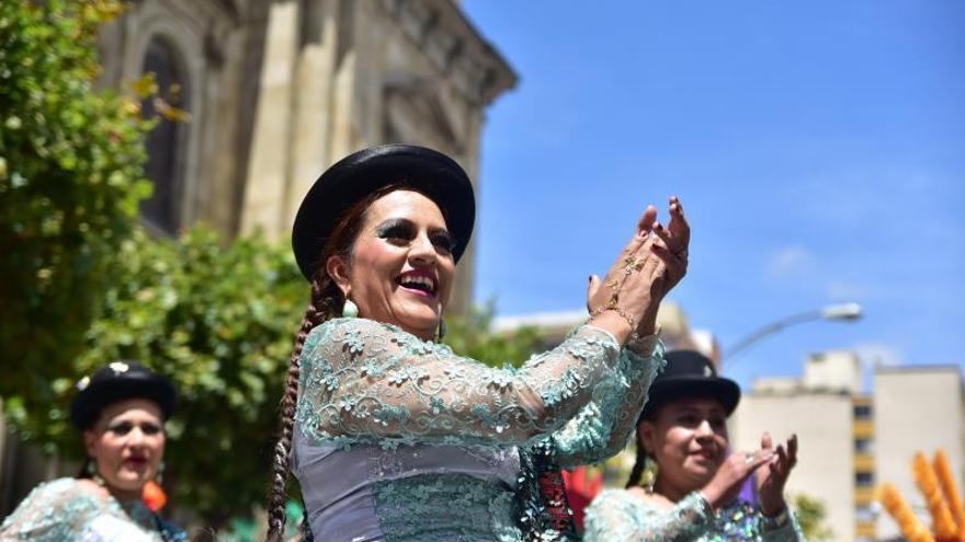 """La Paz celebra que su principal fiesta sea """"Patrimonio de la Humanidad"""""""