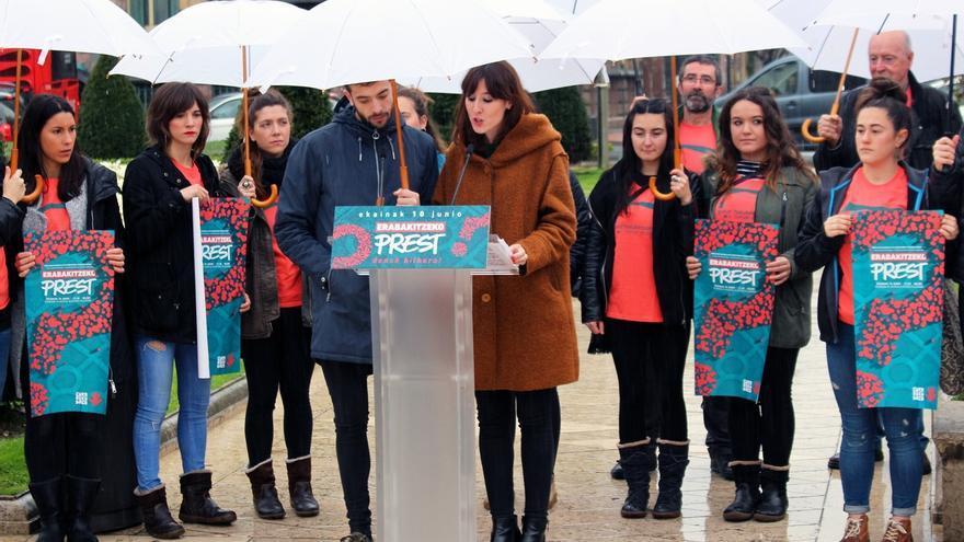 Gure Esku Dago llama a participar el 10 de junio en una manifestación en Bilbao con el lema 'Preparad@s para decidir'