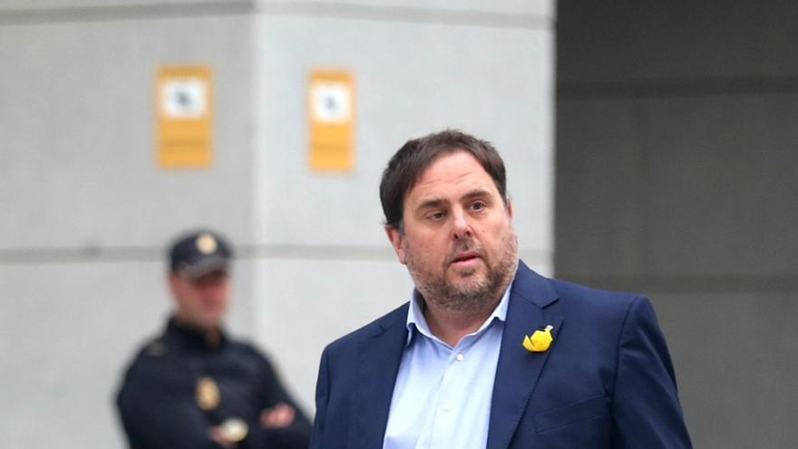 El exvicepresident de la Generalitat, Oriol Junqueras.