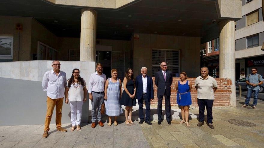 La vicepresidenta Mónica Oltra ha visitado Torrevieja