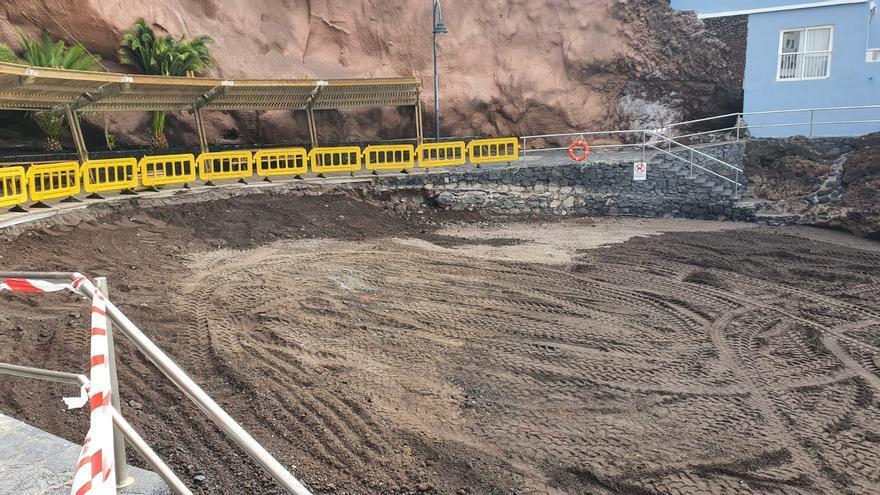 Mejora de la playa de La Restinga en El Pinar de El Hierro