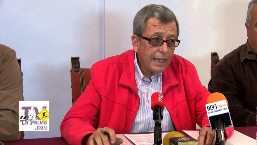 Amable del Corral, presidente de Palca