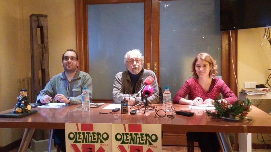 Más de 200 animales acompañarán a Olentzero por las calles de Pamplona el 24 de diciembre