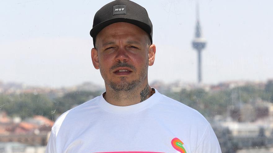 """En la imagen, el cantante y compositor puertoriqueño René Pérez Joglar, conocido como """"Residente""""."""