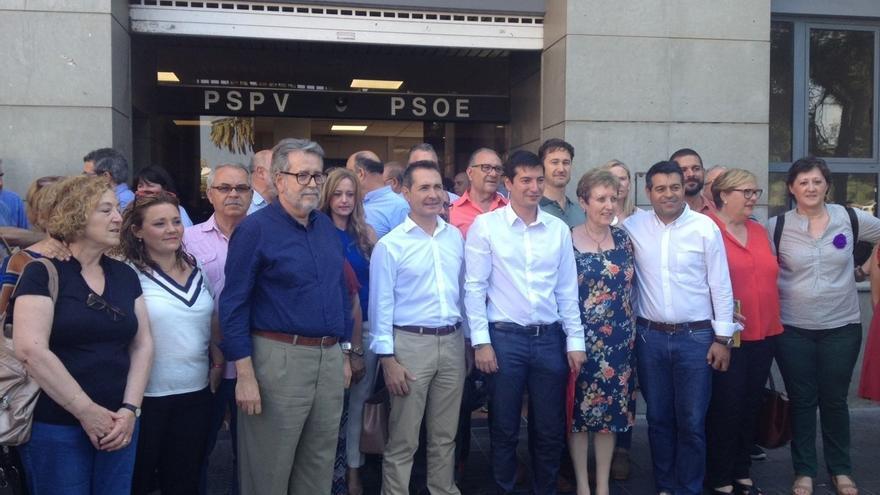 """García (PSPV): """"La primera llamada que haré como secretario general será a Puig para ofrecerle toda la colaboración"""""""