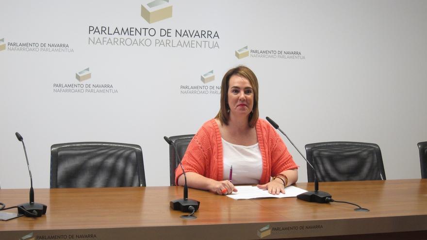 """Ainhoa Aznárez destaca el """"acuerdo entre diferentes"""" en el primer año de legislatura, con 12 leyes aprobadas"""