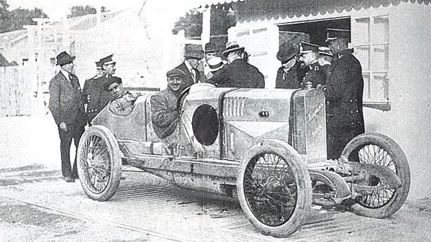 La Sardina, uno de los modelos previos con los que Hispano-Suiza venció en carreras