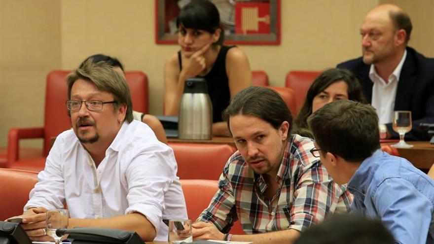 En Comú Podem renuncia a tener grupo parlamentario separado de Unidos Podemos
