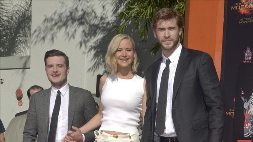 "Jennifer Lawrence dice adiós a ""The Hunger Games"""