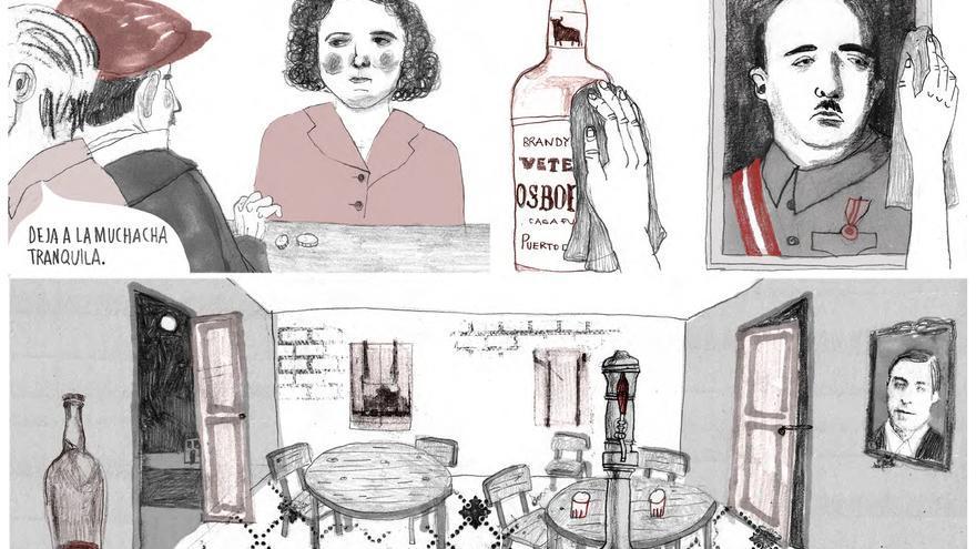 Uno de los flashbacks de 'Estamos todas bien' de Ana Penyas