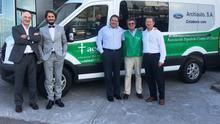 Los vehículos cedidos por Archiauto a la AECC cubrirán el desplazamiento de los enfermos para recibir los tratamientos necesarios