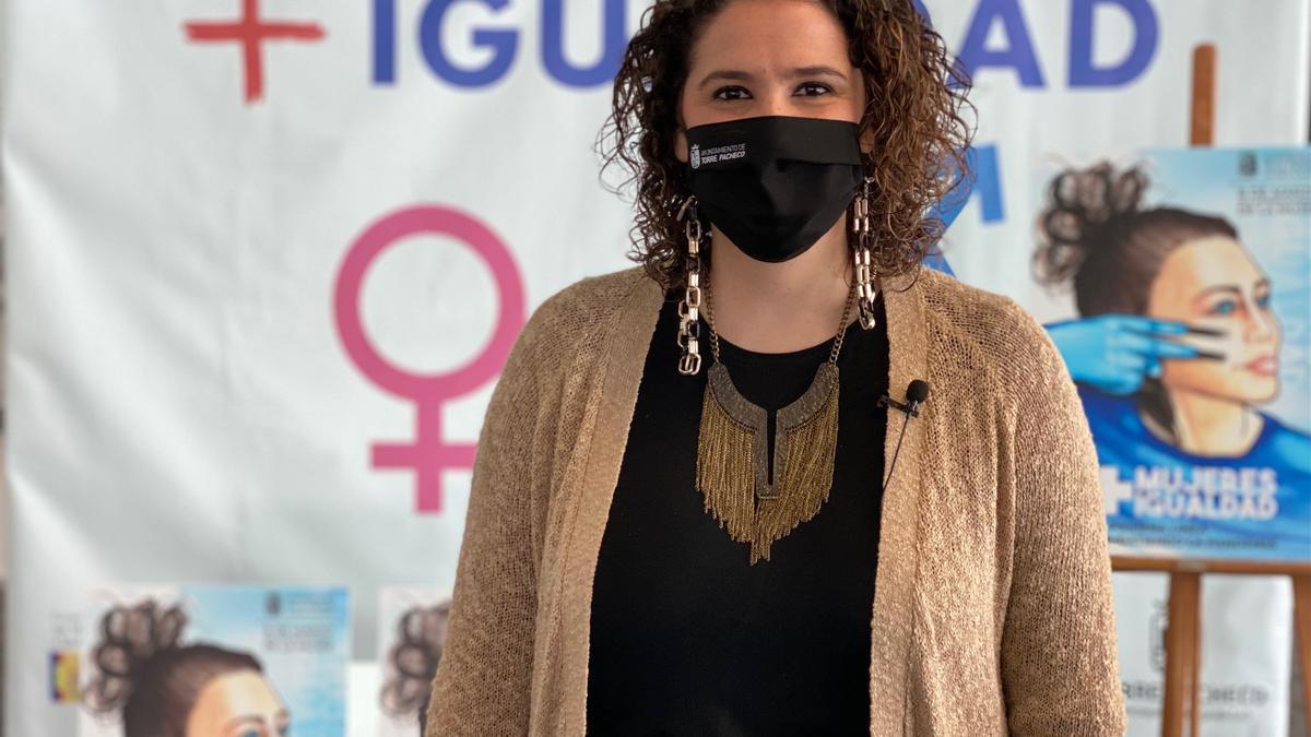 La concejal de Igualdad, Verónica Martínez