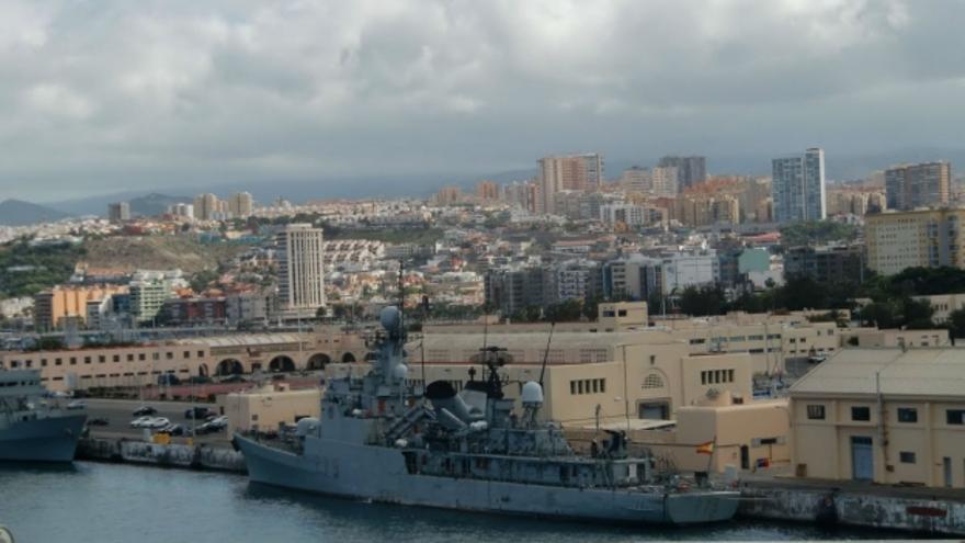 Base Naval de Las Palmas de Gran Canaria. Efe.