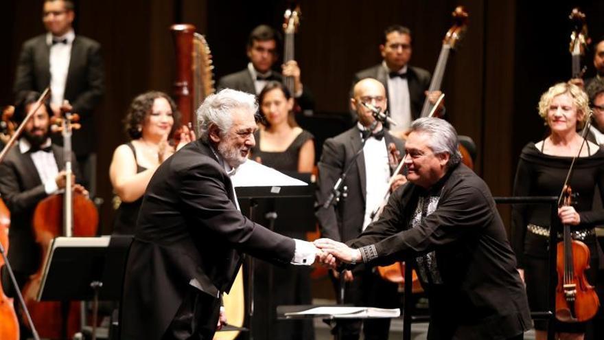 Plácido Domingo dirige gala de zarzuela en ciudad mexicana de Guadalajara