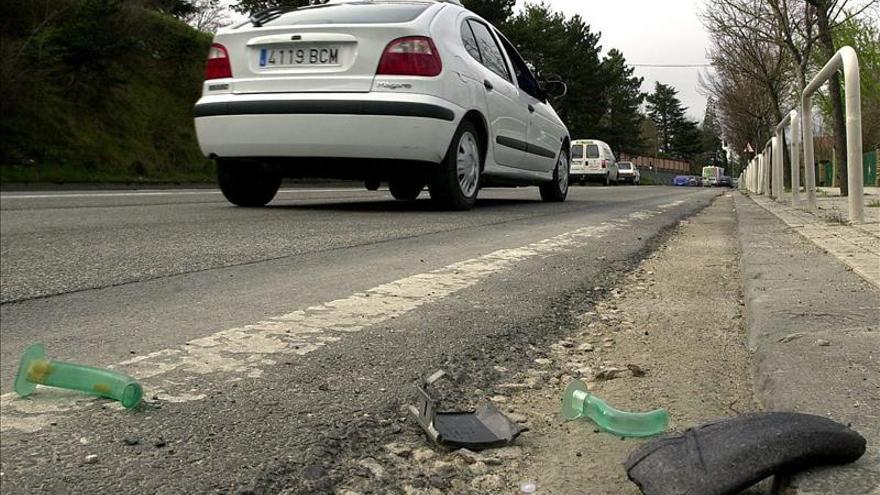 Muere atropellado un ciclista en la A-2 a la altura de Alcalá de Henares