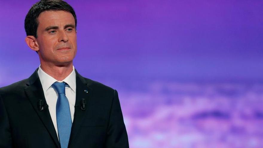 Valls asume la línea de Hollande en el debate de las primarias socialistas