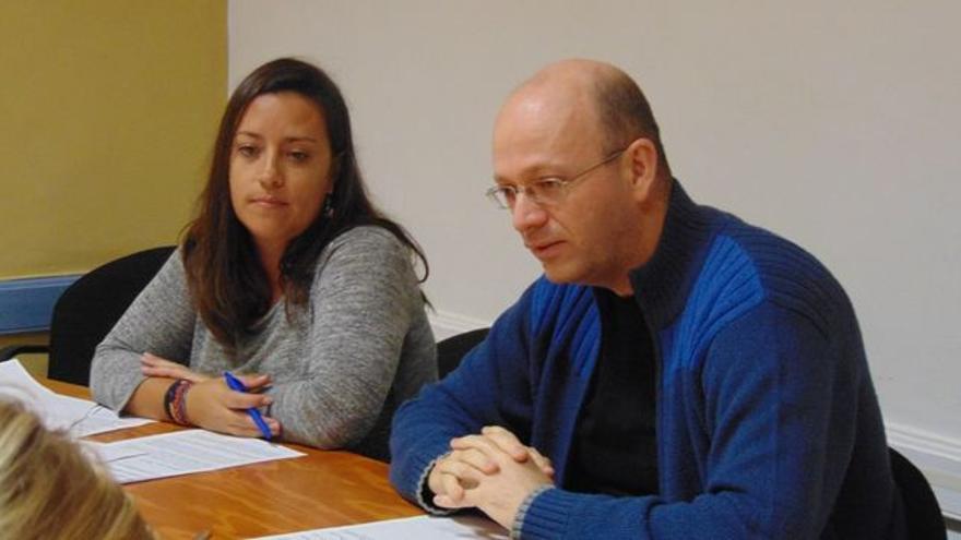 Juan Luis Herrera, concejal de XTF-Nueva Canarias, en una imagen de archivo