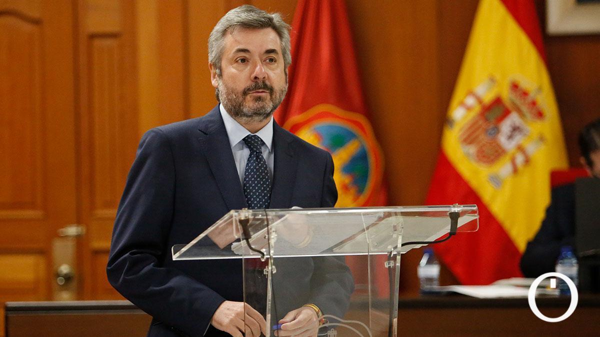 Miguel Ángel Torrico, portavoz del PP