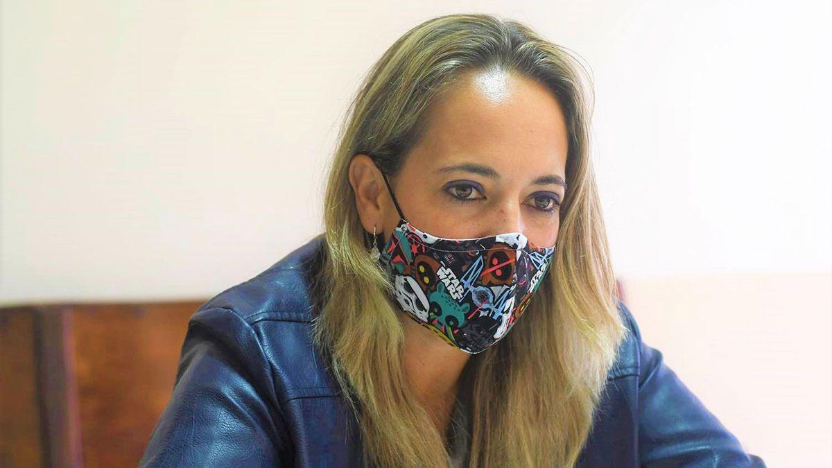 Susana Machín, consejera de Artesanía del Cabildo de La Palma.