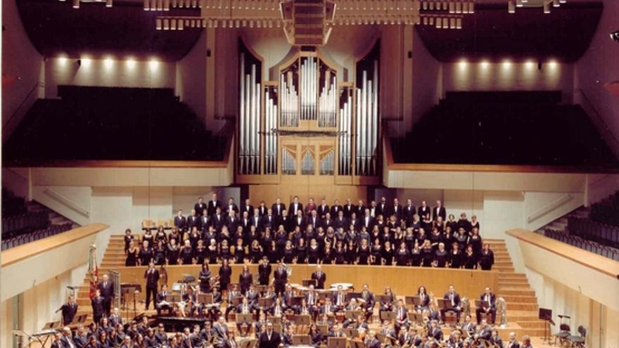 Actuación en la sala Rodrigo del Palau de la Música