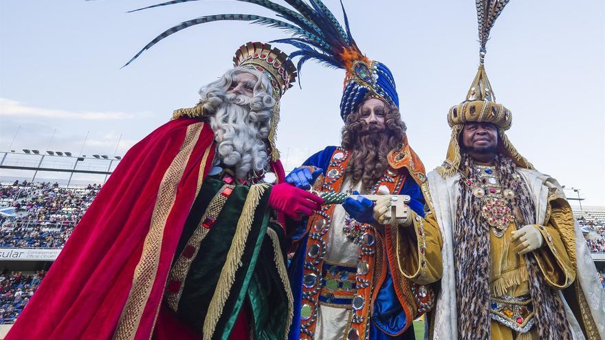 Ver Fotos De Los Reyes Magos De Oriente.Las Entradas Para Recibir A Los Reyes Magos En El Estadio