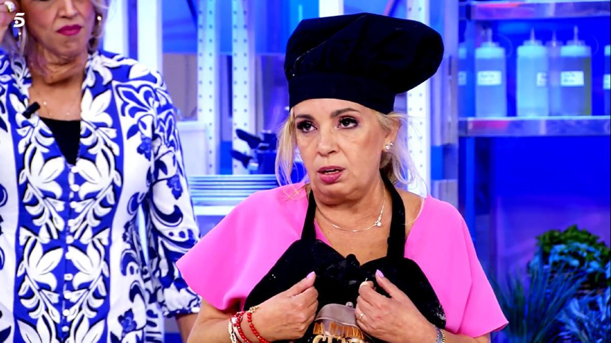 Carmen Borrego, en 'La última cena'