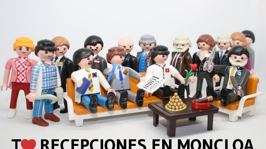 I love recepciones en Moncloa
