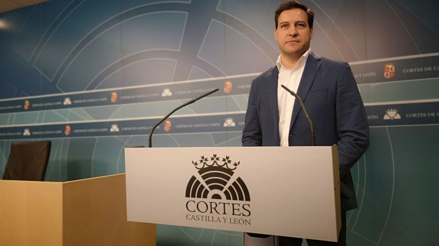 El portavoz del Partido Popular en las Cortes de Castilla y León, Raúl de la Hoz.