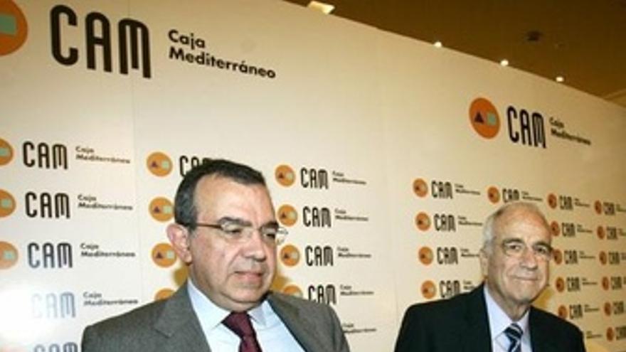 El director general de Caja de Ahorros del Mediterráneo (CAM), Roberto López Aba