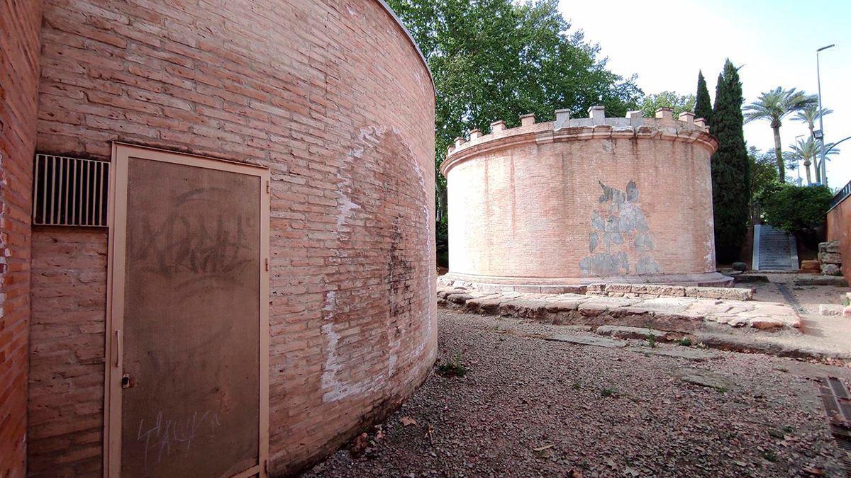 Mausoleos ubicados en Puerta Gallegos.