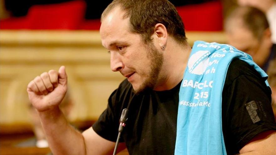 """David Fernàndez (CUP) acusa a CDC de """"complicidad con el Estado español"""""""