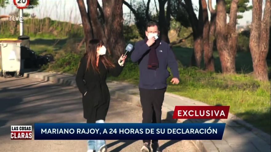 Fotograma de Rajoy en 'Las cosas claras'