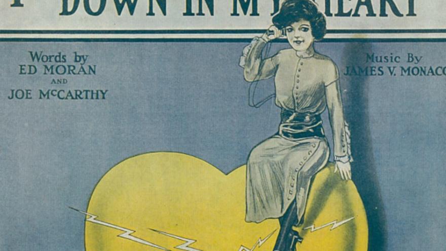 'Hay una estación 'wireless' en mi corazón' sonaba en Broadway en 1913