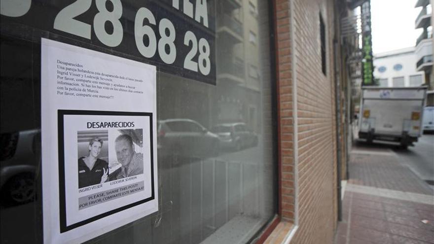 Encuentran en Murcia el coche alquilado por la pareja holandesa desaparecida