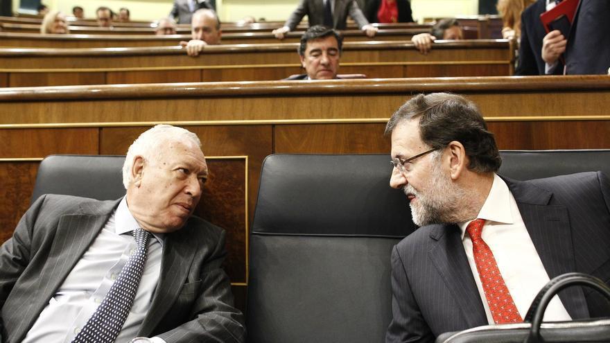 """Margallo asegura ni Manuela Carmena ni Podemos son """"un peligro para la democracia"""" como sostiene Aguirre"""