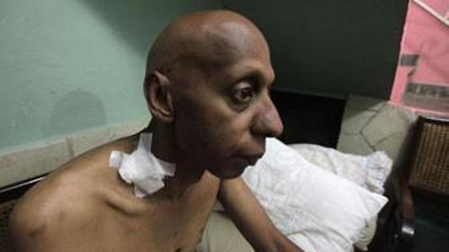 El disidente cubano Guillermo Fariñas