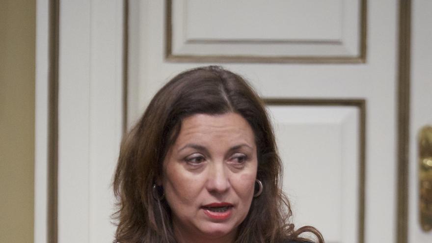 Ventura del Carmen Rodríguez, diputada del PSOE por La Gomera en el Parlamento de Canarias.