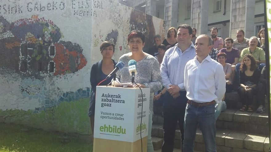 """EH Bildu llama a los vascos que se sientan soberanistas y de izquierdas a votar """"siguiendo sus sentimientos"""""""