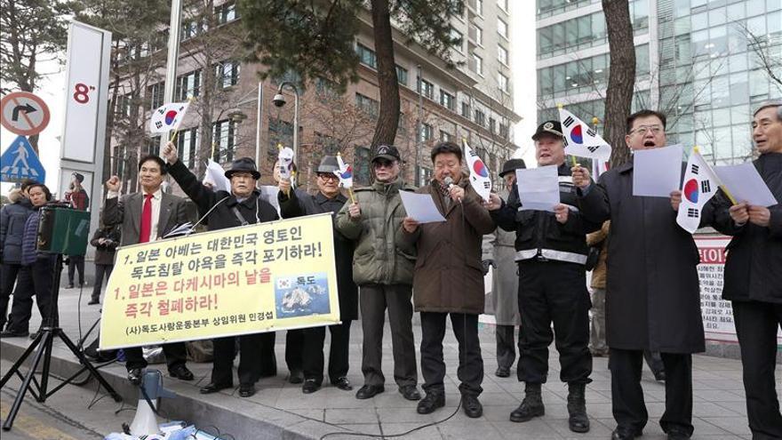 Corea del Sur realizará ejercicio militar en islotes disputados con Japón