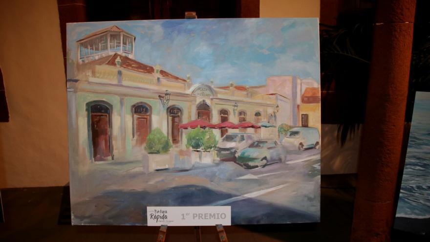 Pintura de La Recova ganadora del certamen.