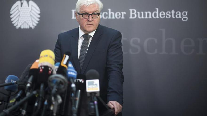 Steinmeier viaja a Turquía en un momento de fuerte tensión entre Berlín y Ankara