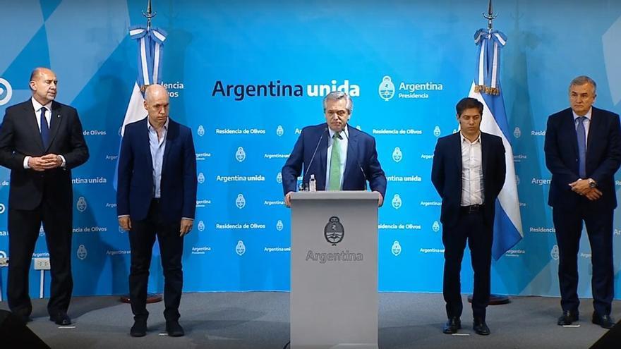 Un año después de la primera cuarentena, Fernández reactiva la mesa de gobernadores