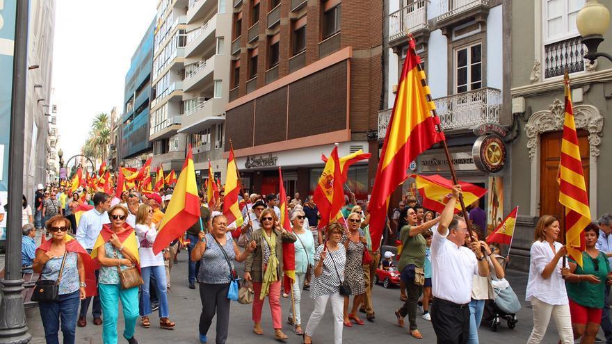 Manifestación en Triana. (TWITTER)