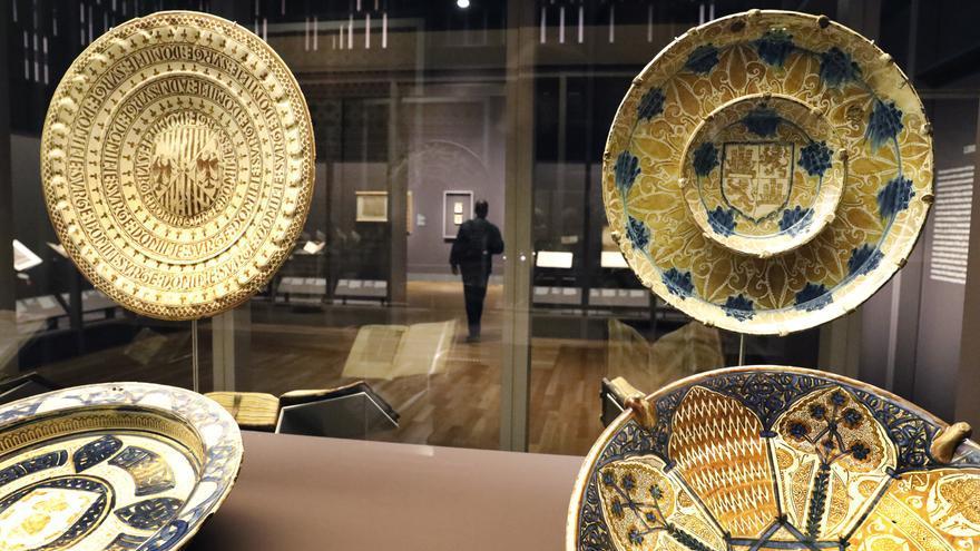 """C:\fakepath\Imagen en sala de la exposición """"Tesoros de la Hispanic Society of America. Visiones del mundo hispánico"""".jpg"""