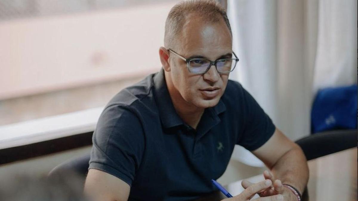 Tony Acosta, portavoz de CC en el Ayuntamiento de Santa Cruz de La Palma.