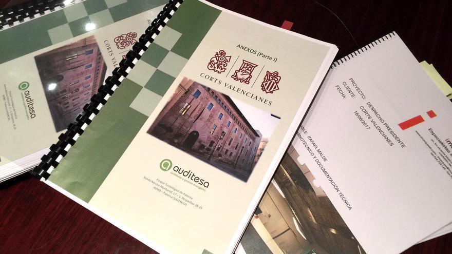 El document elaborat per les Corts Valencianes