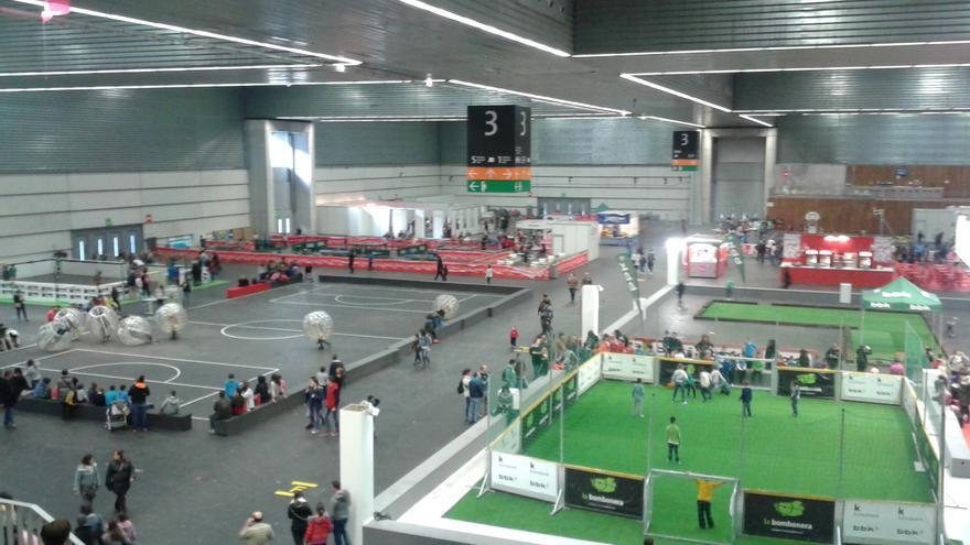PIN (bis) 2015 en Bilbao Exhibition Centre (BEC)