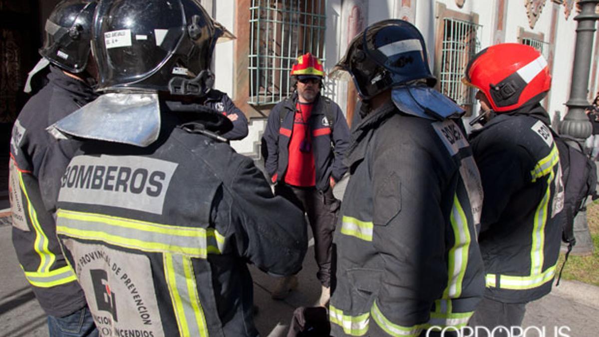 Imagen de archivo de bomberos del Consorcio de la Diputación de Córdoba.