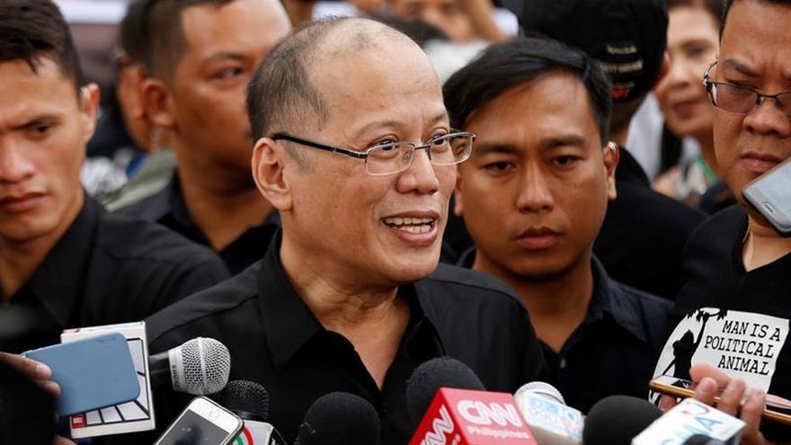 Imputado por corrupción el expresidente filipino Benigno Aquino