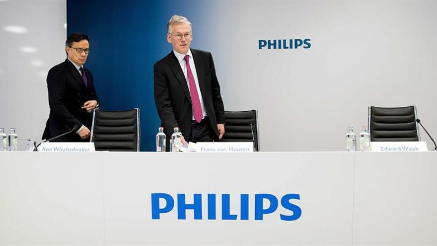 El beneficio neto de Philips se incrementó un 57 % en el segundo trimestre